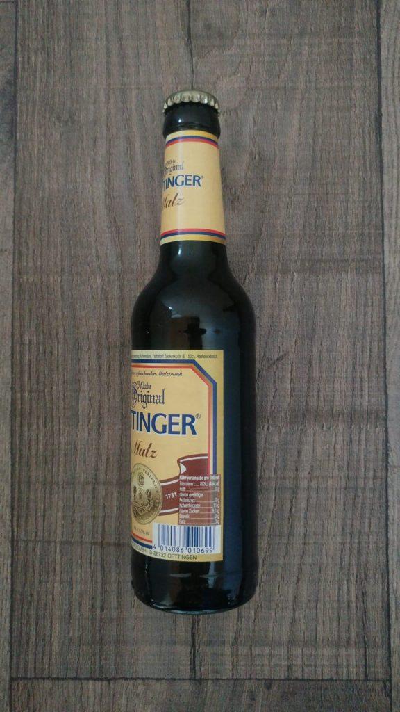 Oettinger Malz Flasche Seite