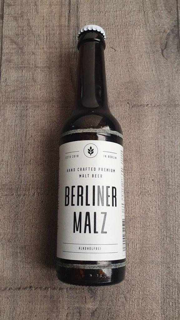 Berliner Malz Flasche vorne